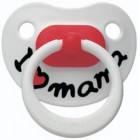 Биби/bibi пустышка латекс ортодонт дневная мама  (108103)