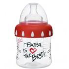 Биби/bibi бутылочка 250мл комфорт классика папа широкое горло соска силикон регулир поток  (107990)