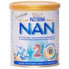 ДП нан 2 оптипро смесь сух.молочн. 6+мес 400г №1